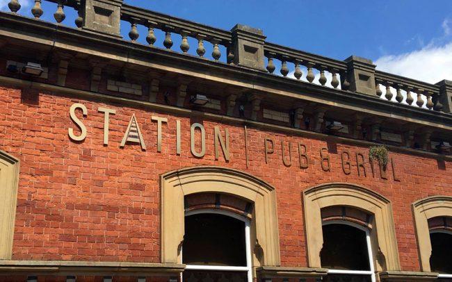 Station Pub & Grill Branding portfolio