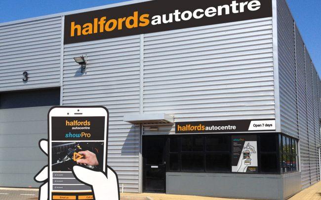 Halfords Branding portfolio